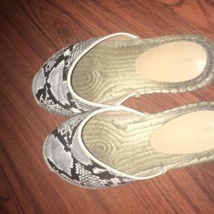 Banana Republic Shoes - Banana republic snake print espadrilles